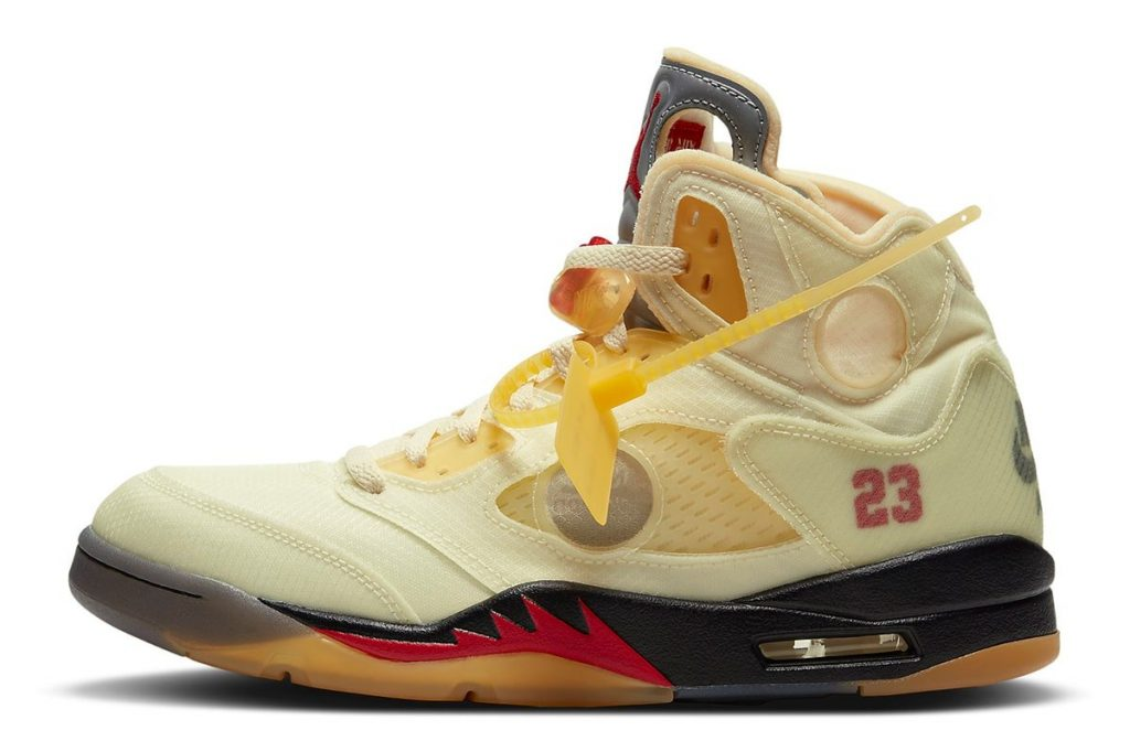 OFF-WHITE AIR JORDAN 5 SAIL OFFICIAL IMAGE-1