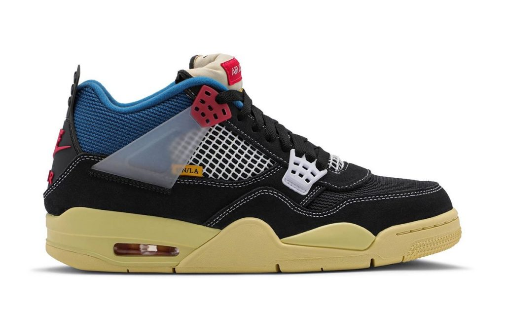 Union Air Jordan 4 OFF-Noir- Featured Image