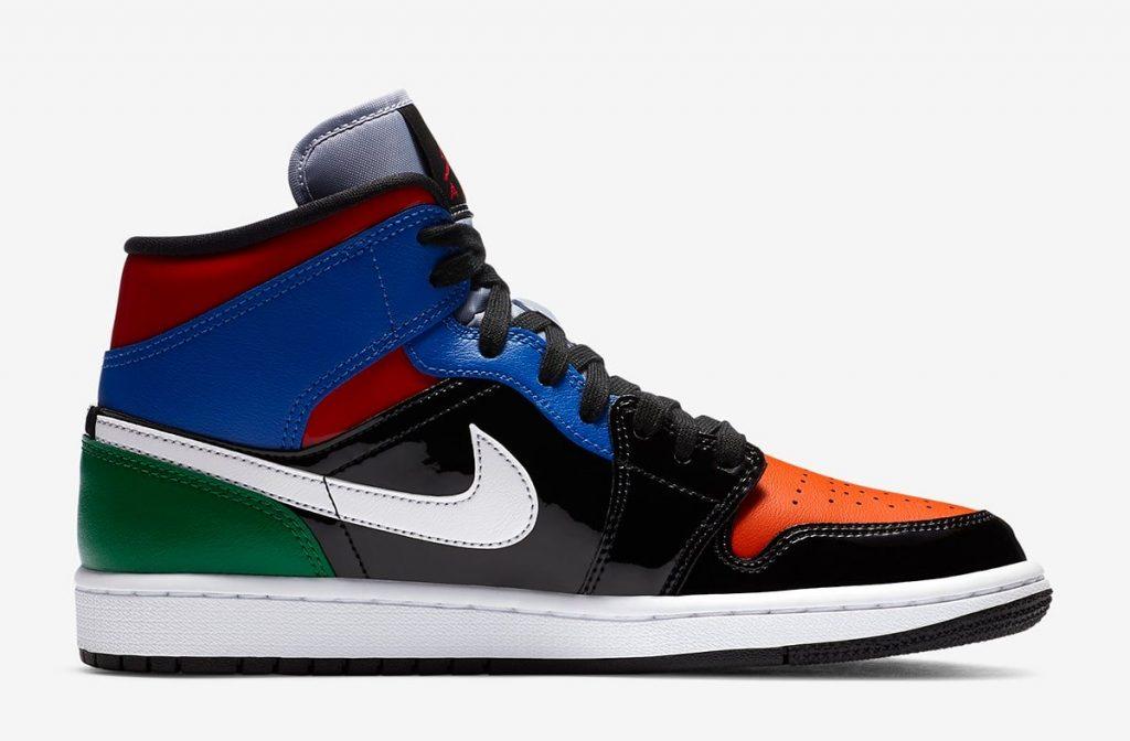 Air Jordan 1 Mid SE WMNS Multi leather