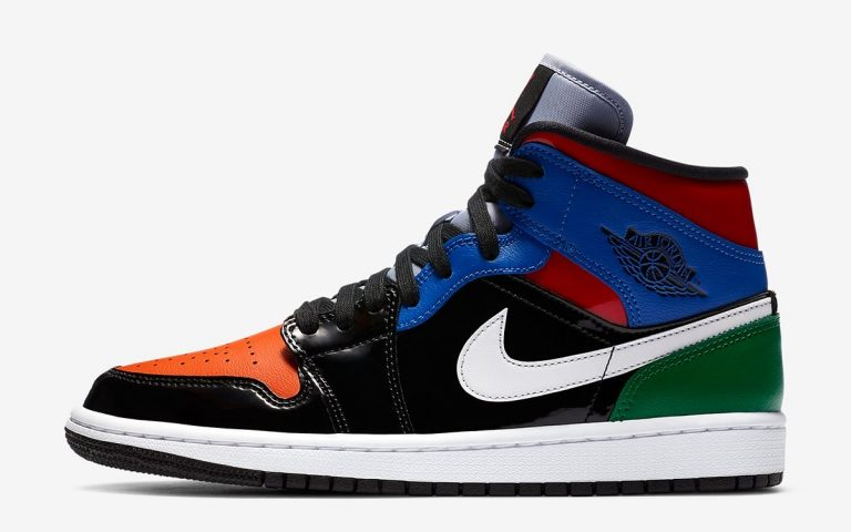 Air Jordan 1 Mid SE WMNS Multi leather