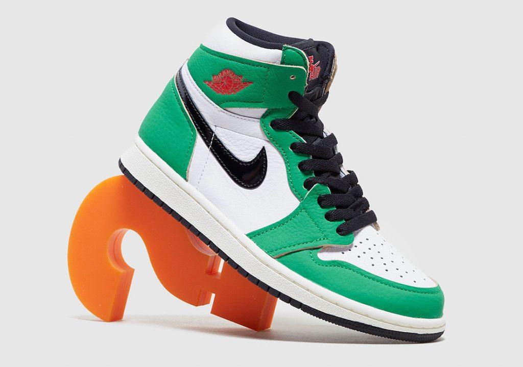 Air Jordan 1 High OG Lucky Green More Looks