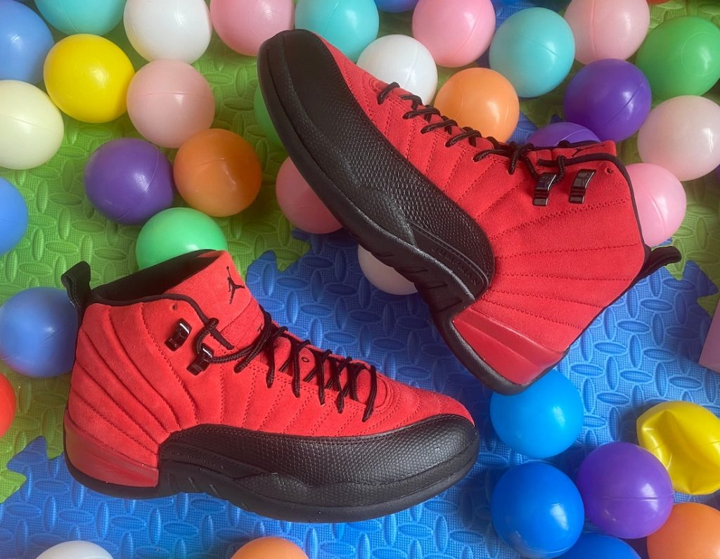 Air Jordan 12 Reverse Flu Game-3