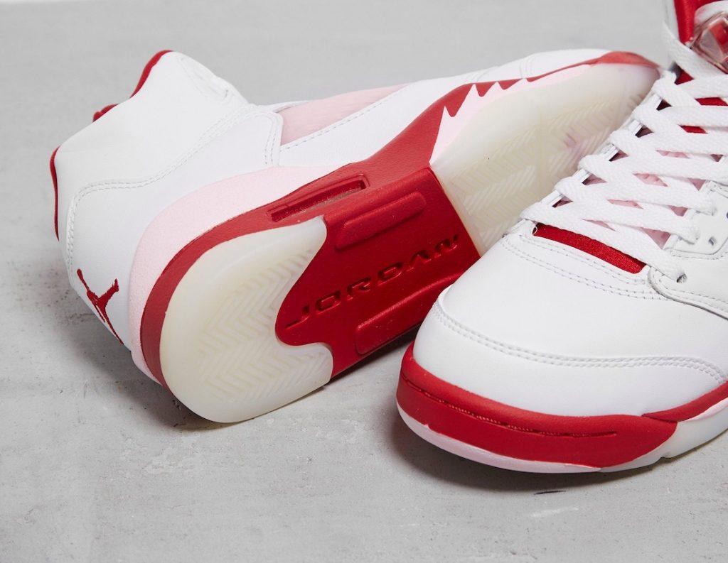 Air-Jordan-5-GS-White-Pink-Foam-Gym-Red-440892-106-Release-Date-3