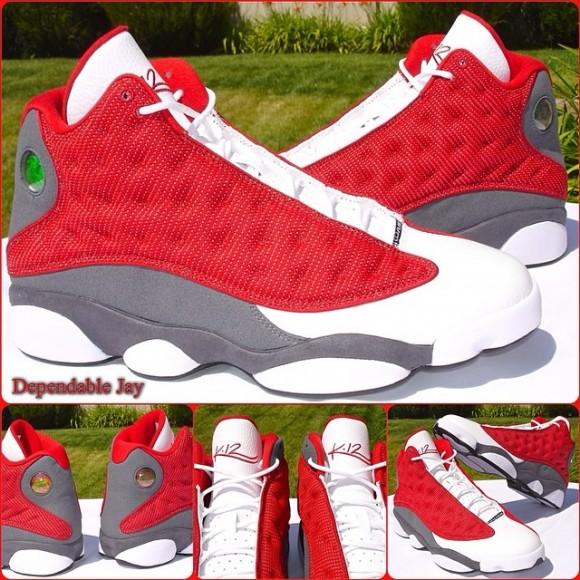 Air Jordan 13 Gym Red-1