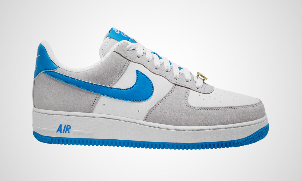 NIKE AIR FORCE 1 LOW '07 LV8 LIGHT PHOTO BLUE