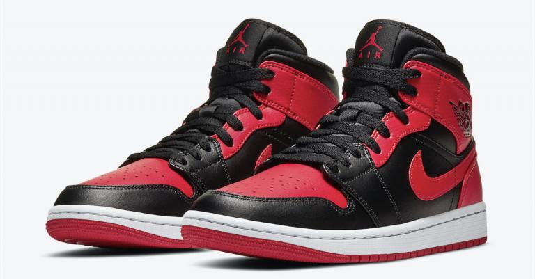 Air Jordan 1 Mid Bred Featured Image