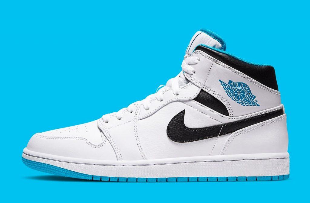 Air Jordan 1 Mid Laser Blue