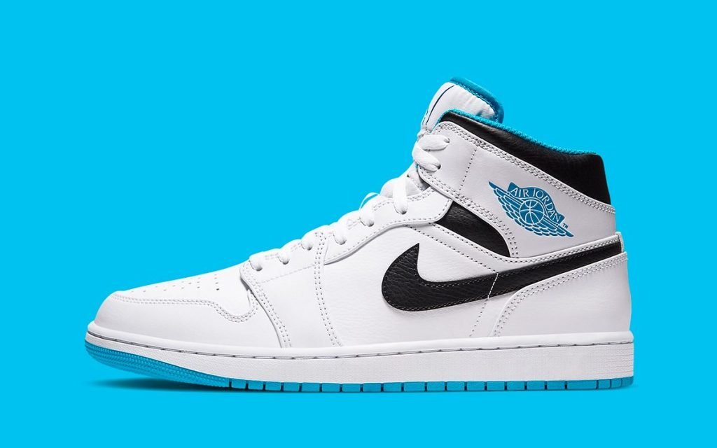 Air Jordan 1 Mid Laser Blue-Featured Image
