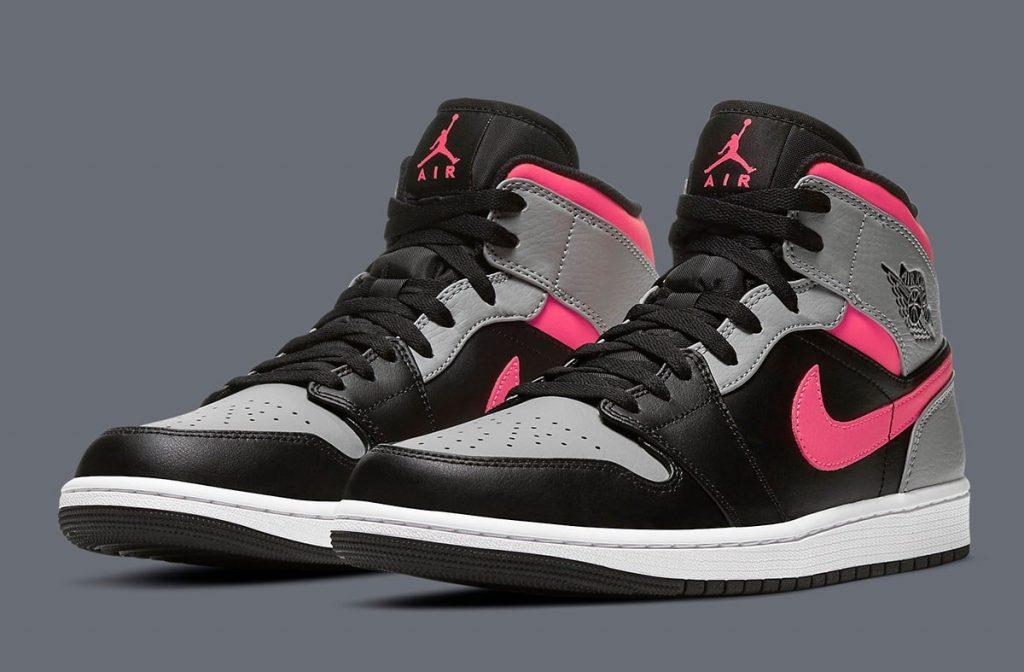 Air Jordan 1 Mid Pink Shadow