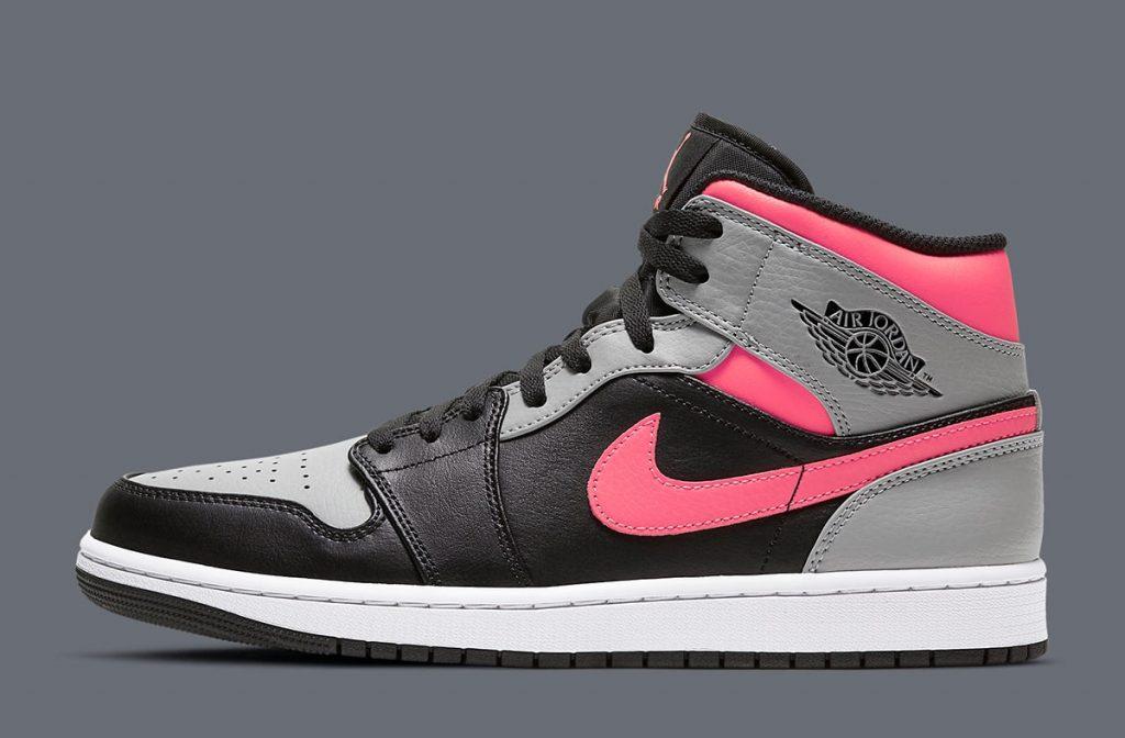 Air Jordan 1 Mid Pink Shadow-1