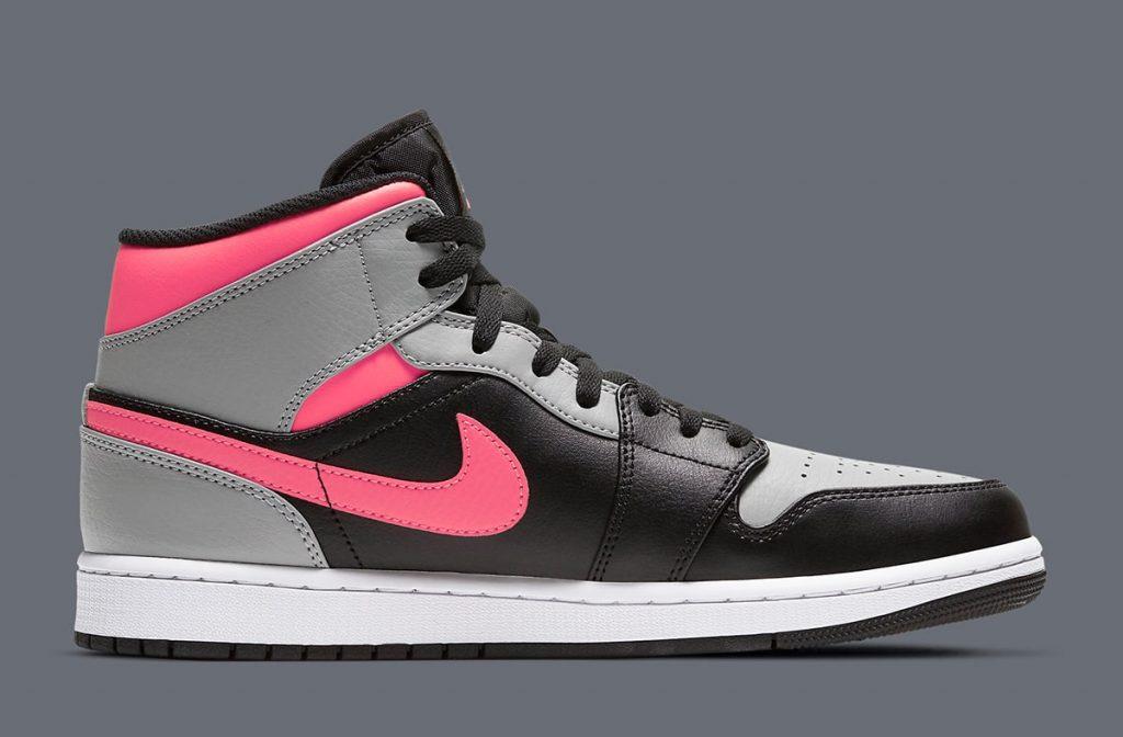 Air Jordan 1 Mid Pink Shadow-2