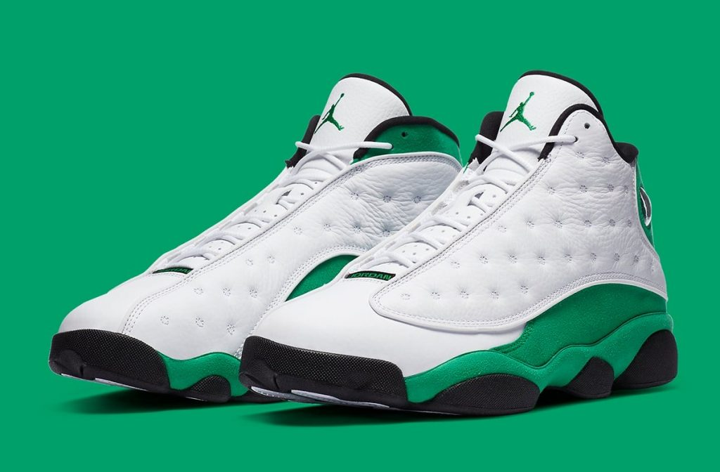Air Jordan 13 Lucky Green Official Image