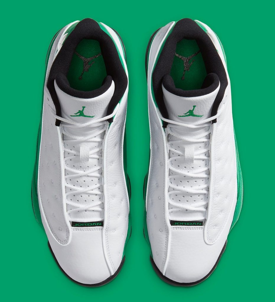Air Jordan 13 Lucky Green Official Image-3
