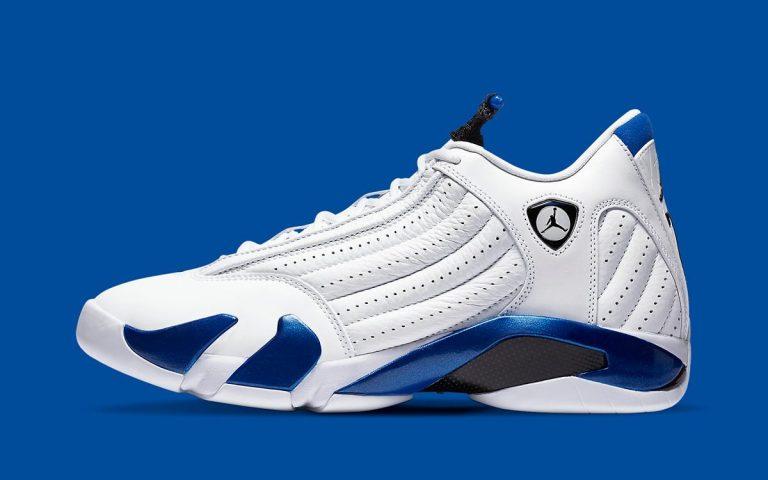 Air Jordan 14 Hyper Royal Official Look-Featured Image