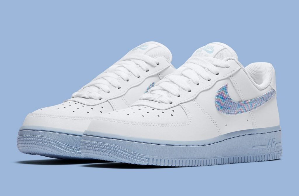 Nike Air Force 1 Iridescent Swoosh