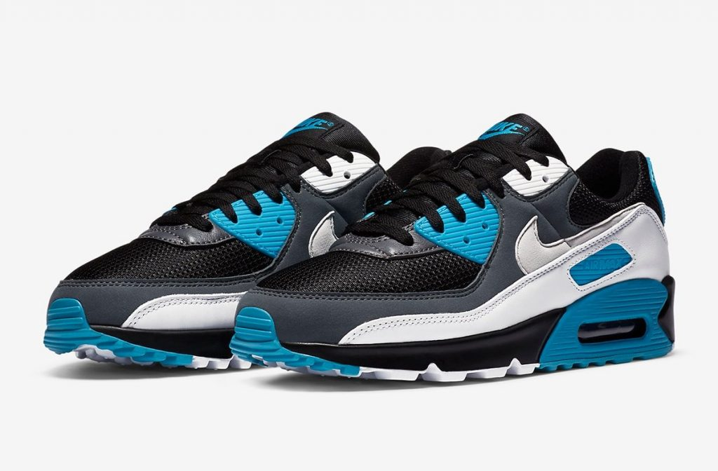 Nike Air Max 90 Black Laser Blue