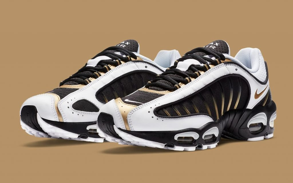 Nike Air Tailwind 4 Metallic Gold-Featured