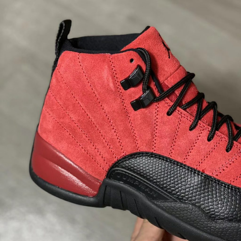 Air Jordan 12 Reverse Flu Game More Looks-3