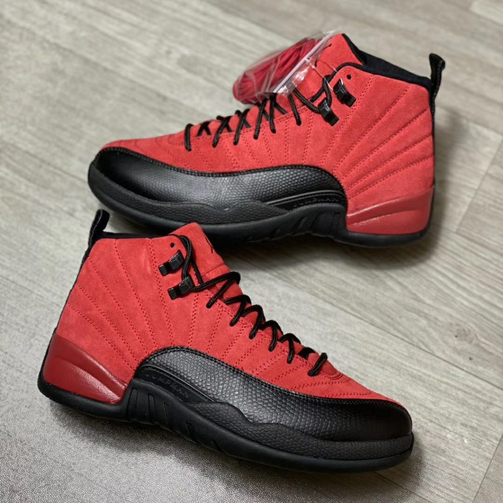 Air Jordan 12 Reverse Flu Game More Looks-4