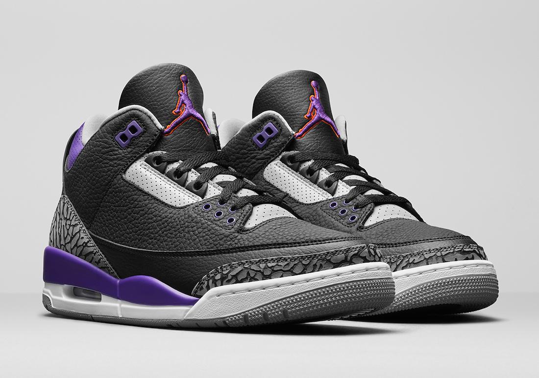 Air Jordan 3 Court Purple-1