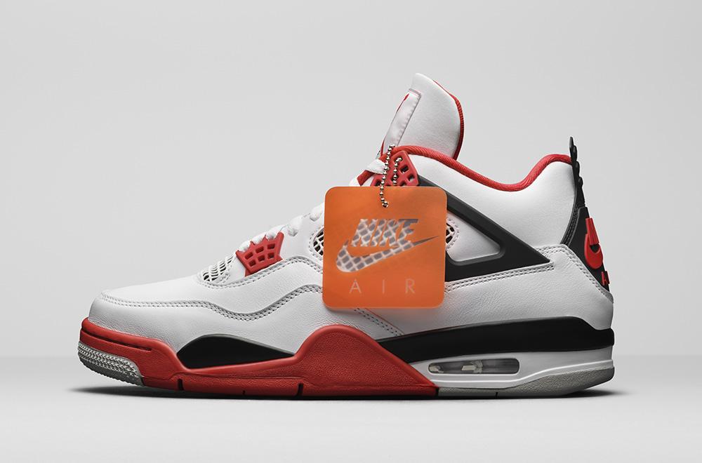 Air Jordan 4 Fire Red Updated Look-1