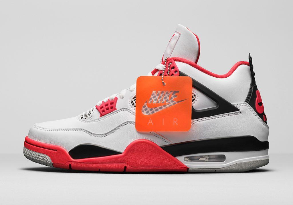 More Looks Air Jordan 4 Fire Red-1