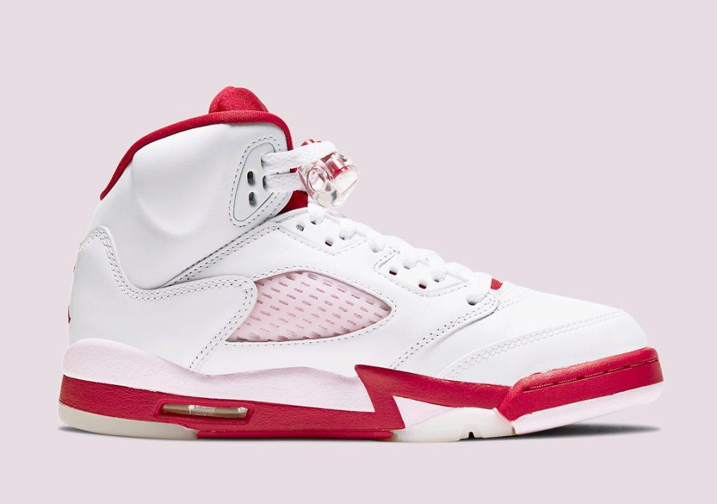 Air Jordan 5 GS Pink Foam-2
