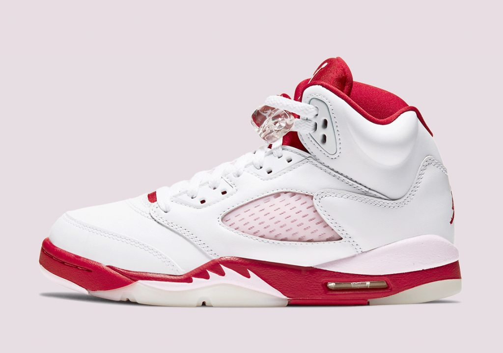 Air Jordan 5 GS Pink Foam-1