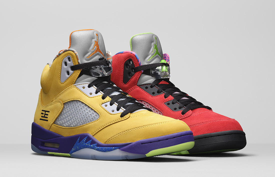 Air Jordan 5 What The Officially Unveiled