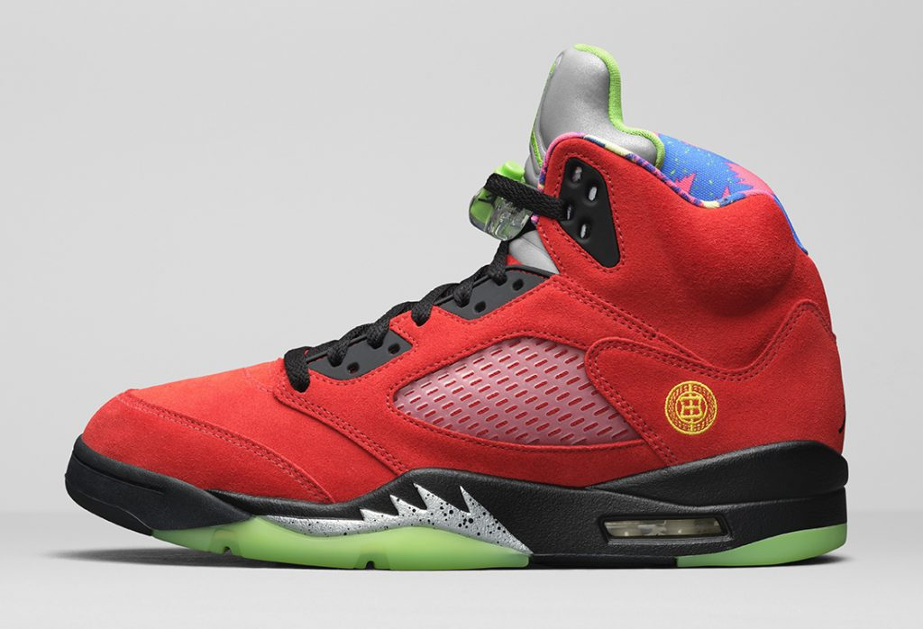 Air Jordan 5 What The Officially Unveiled-1