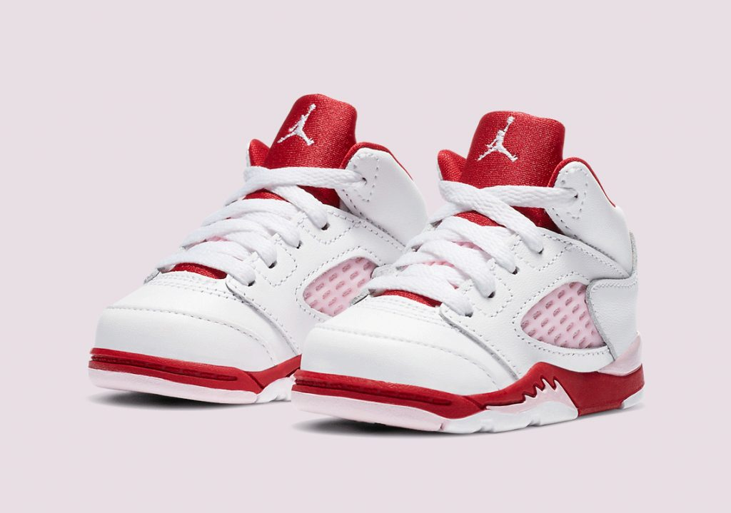 Air Jordan 5 GS Pink Foam-4