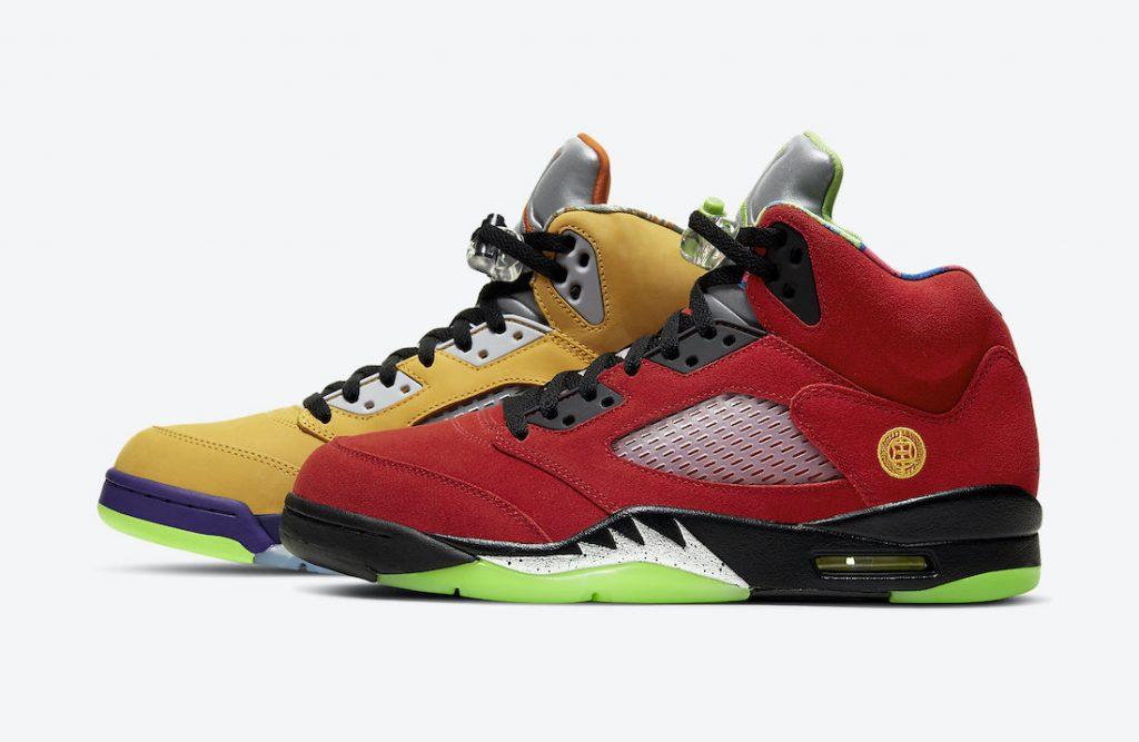 Air Jordan 5 What The Official Look-1