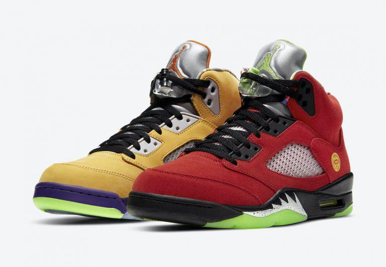 Air Jordan 5 What The Official Look
