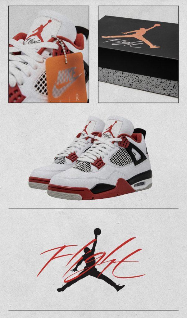 Air Jordan 4 Tech Red-5