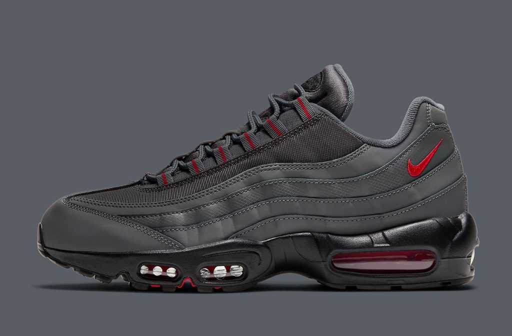 NIKE AIR MAX 95 GREY/RED-1