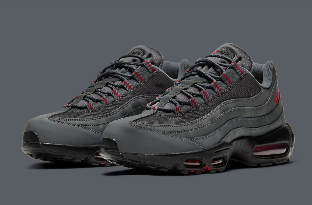 NIKE AIR MAX 95 GREY/RED