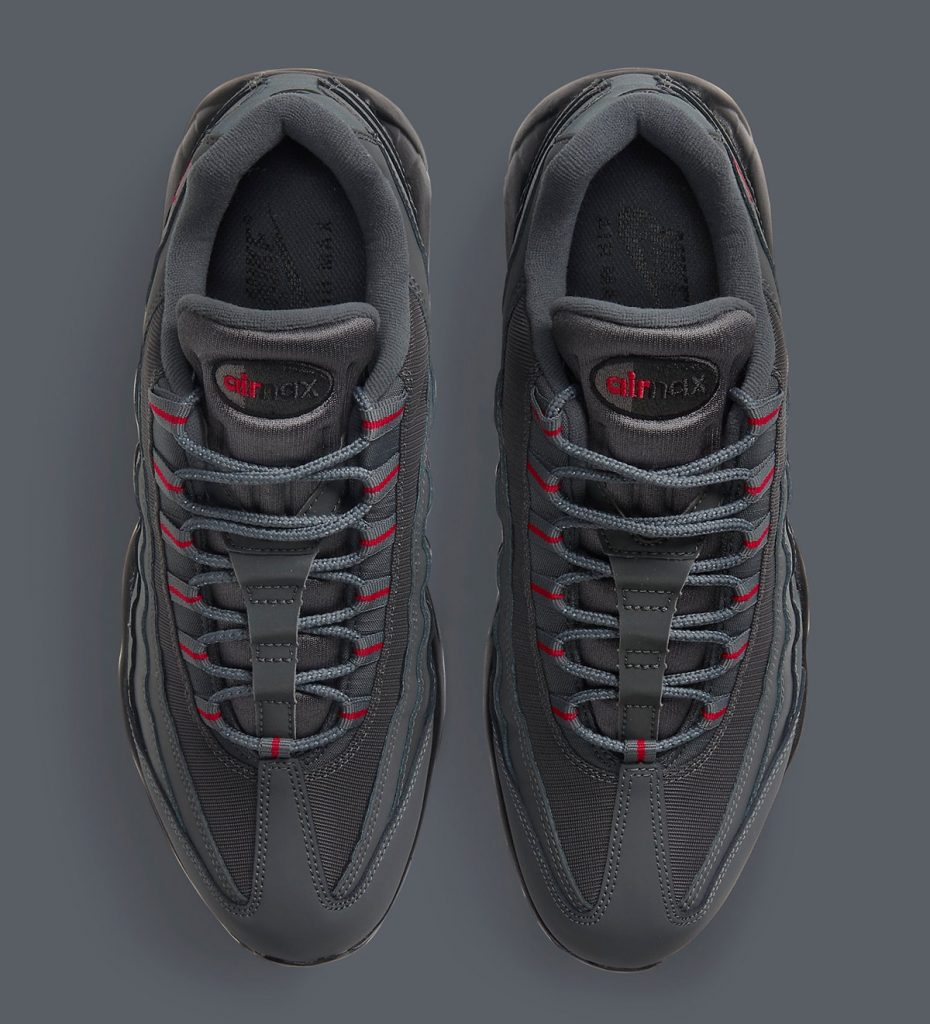 NIKE AIR MAX 95 GREY/RED-3