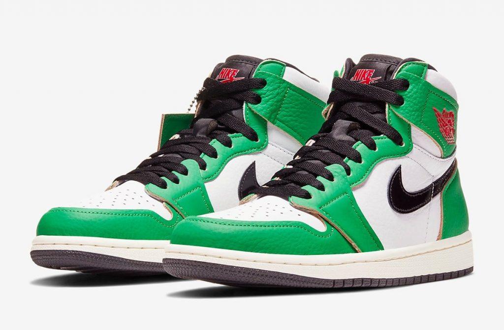 Air Jordan 1 High WMNS Lucky Green Official Look-1