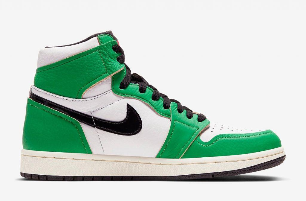 Air Jordan 1 High WMNS Lucky Green Official Look-3