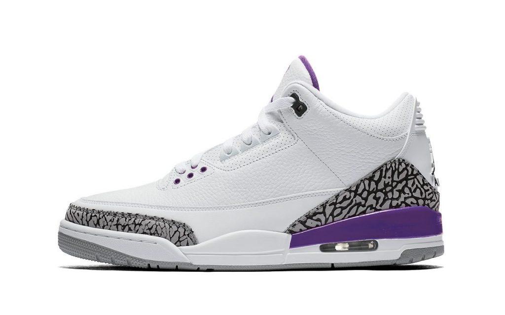 Air Jordan 3 WMNS Violet Ore Mockup