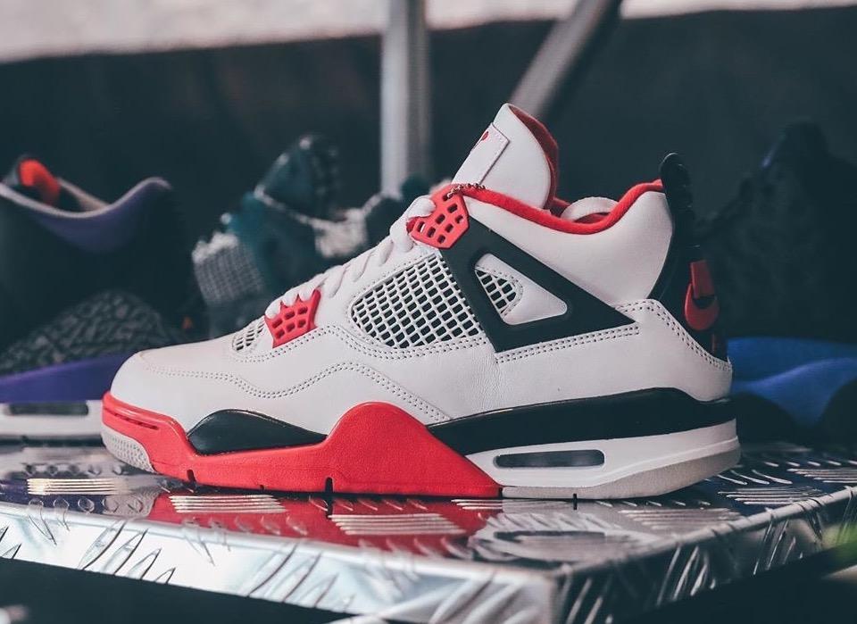 Air Jordan 4 Fire Red New Detailed Look