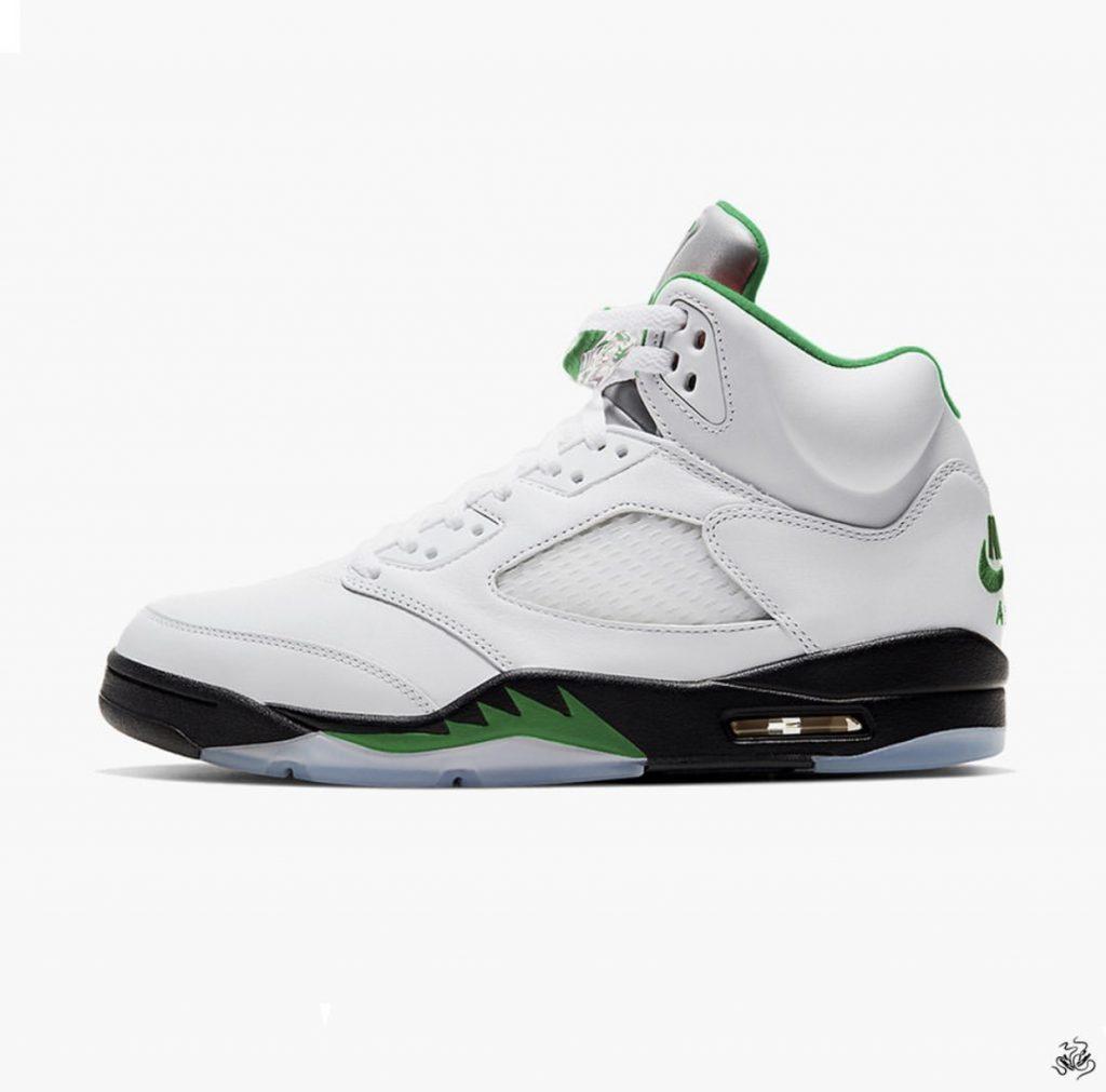 Air Jordan 5 Pine Green-1