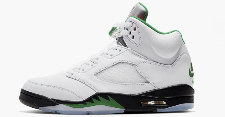 Air Jordan 5 Pine Green