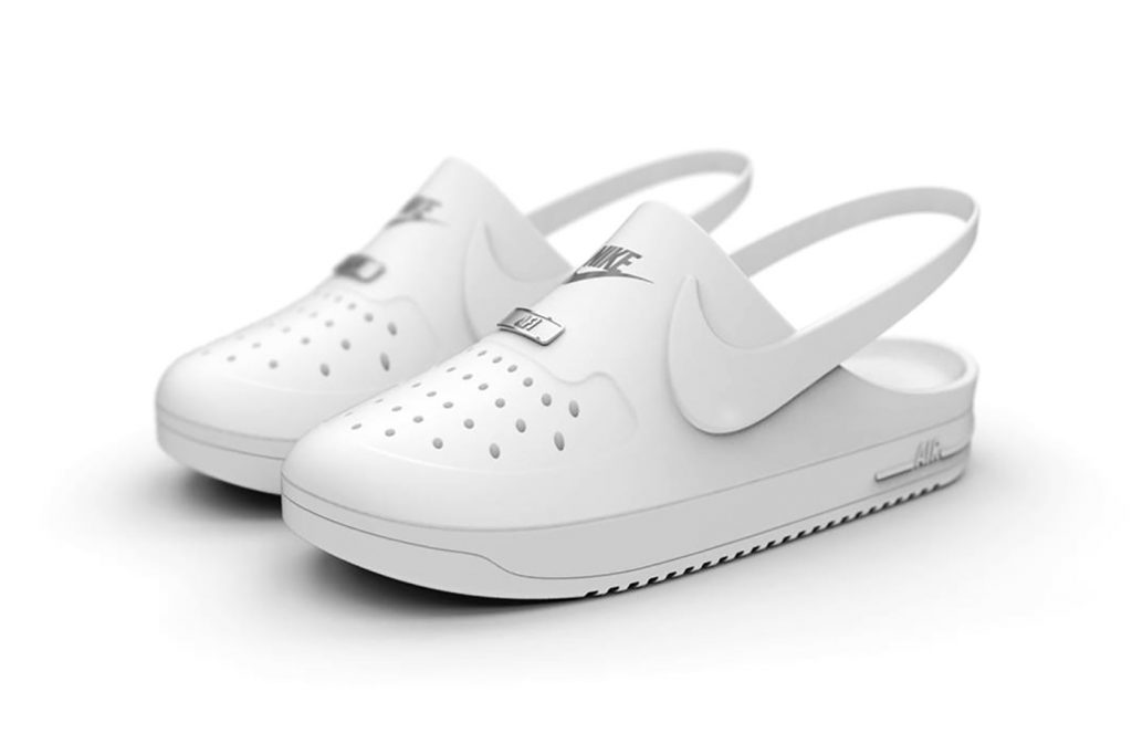Crocs x Nike Air Force 1 Clog Hybrid