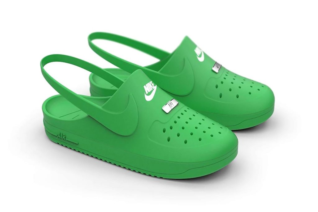 Crocs x Nike Air Force 1 Clog Hybrid-3