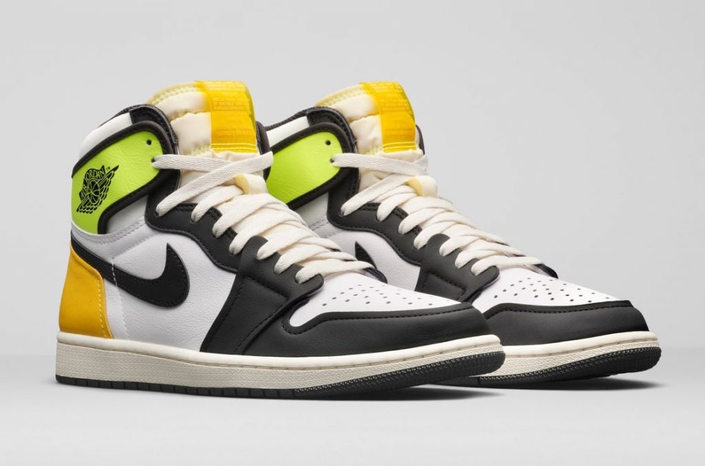 Air-Jordan-1-White-Volt-University-Gold-555088-118-Release-Date