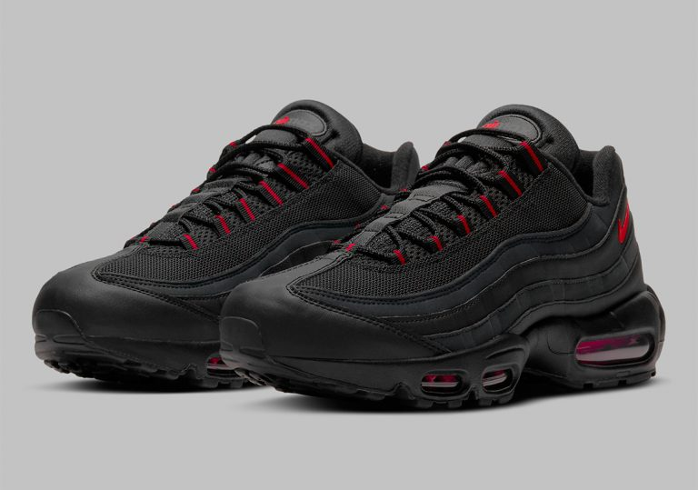 NIKE AIR MAX 95 BRED OFFICIAL LOOK