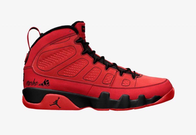 Air-Jordan-9-Chile-Red-Black-CT8019-600-Release-Date-Mock