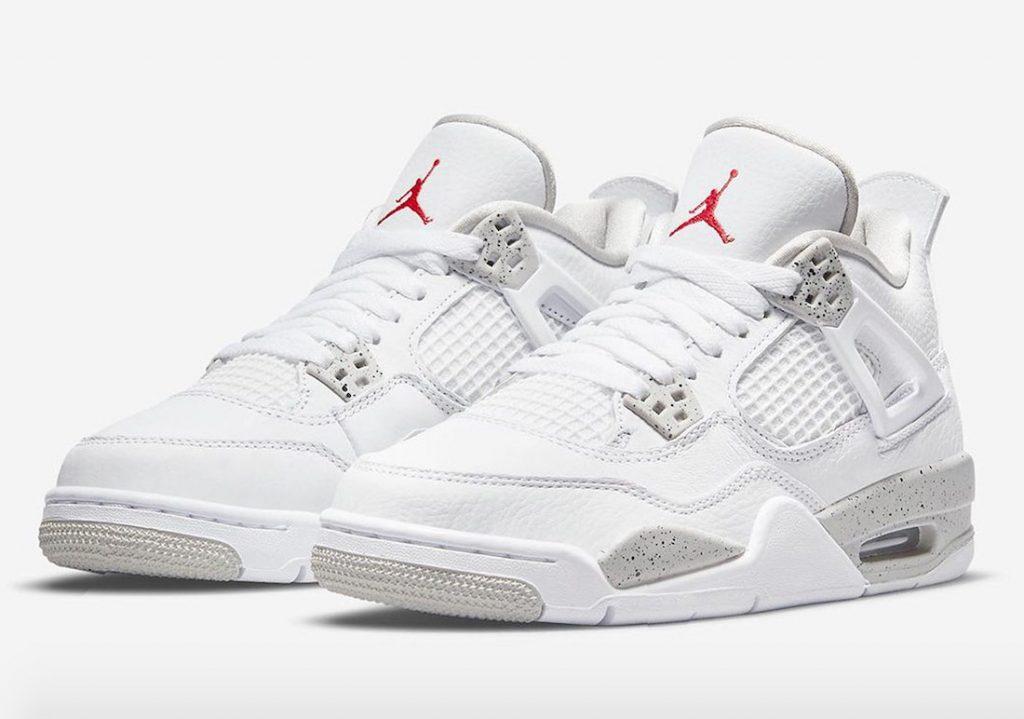 Air-Jordan-4-White-Oreo-GS-Release-Date