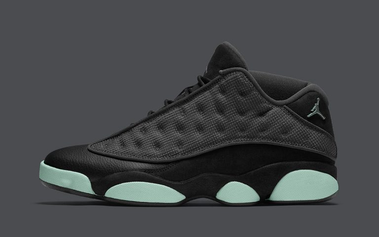 air-jordan-13-low-singles-day-black-barely-green-release-date
